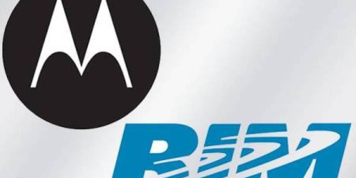 RIM acusa a Motorola de bloquear ofertas de trabajo