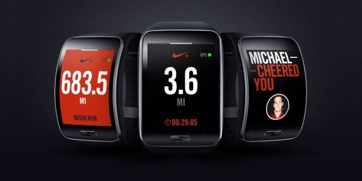 Samsung incorpora Nike+ Running App al nuevo Gear S