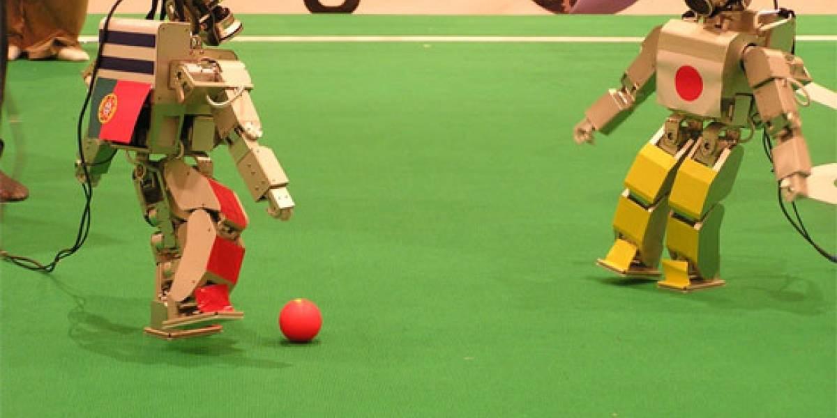 En el 2050 los robots jugarán fútbol mejor que nosotros