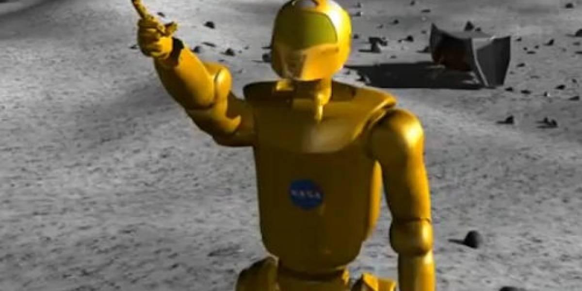 Futurología: La NASA podría volver a la luna... usando robots humanoides