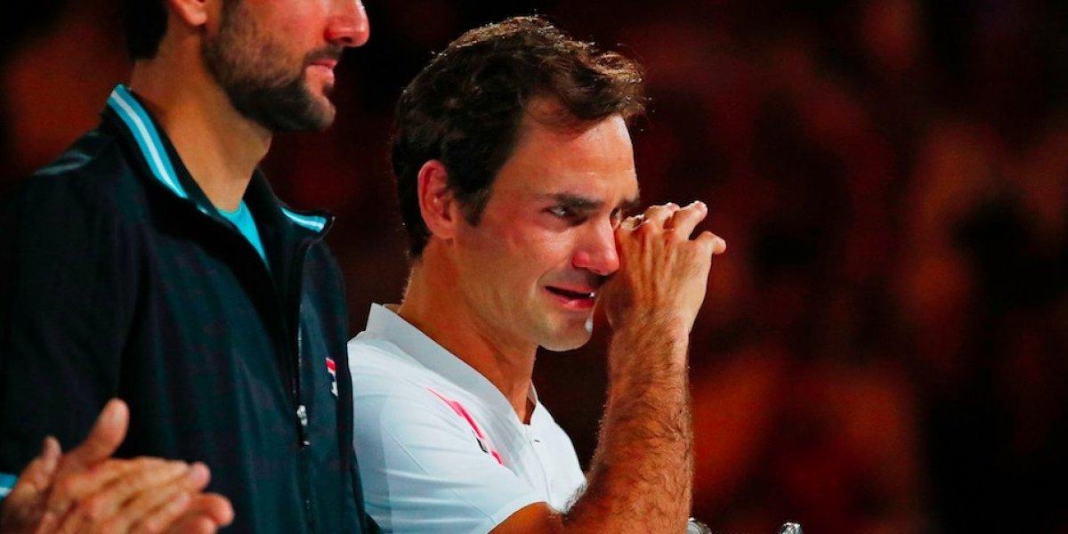 VIDEO: Federer no contiene las lágrimas tras campeonato en Australia