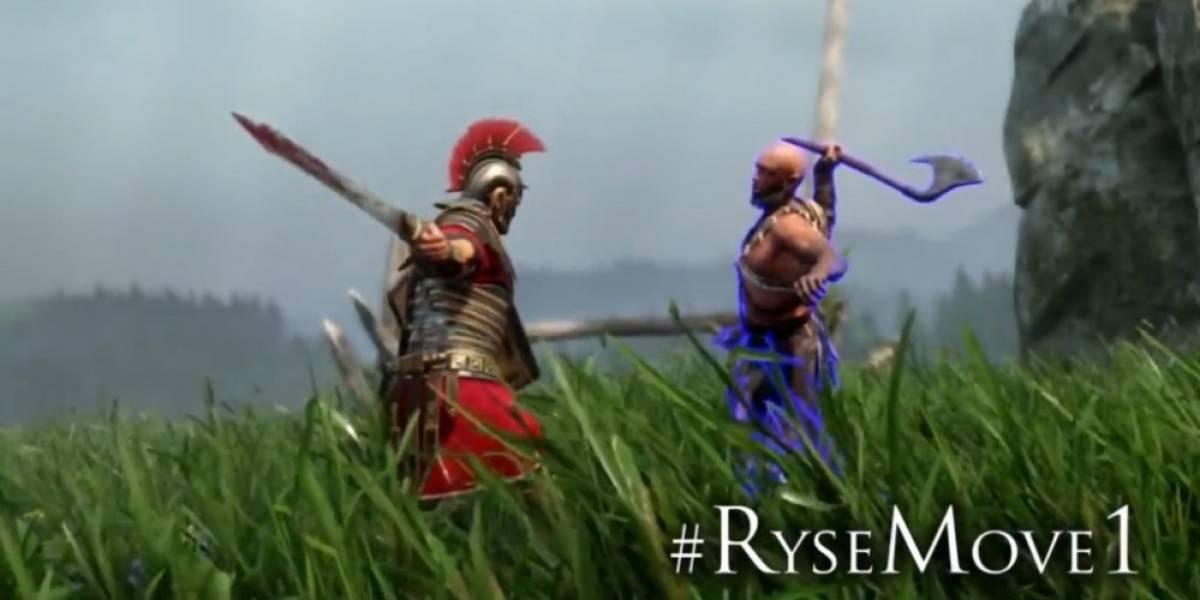 Pónganle nombre a las ejecuciones de Ryse: Son of Rome