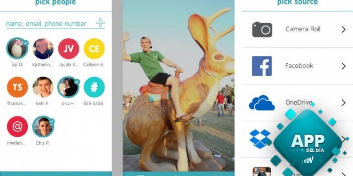 Microsoft Xim permite crear álbumes de fotos efímeras que cualquier teléfono puede ver [App del día]