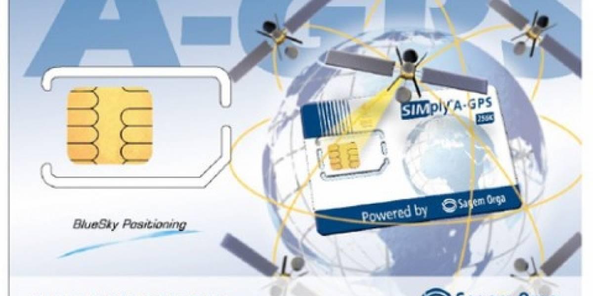 Presentan tarjeta SIM con receptor GPS integrado