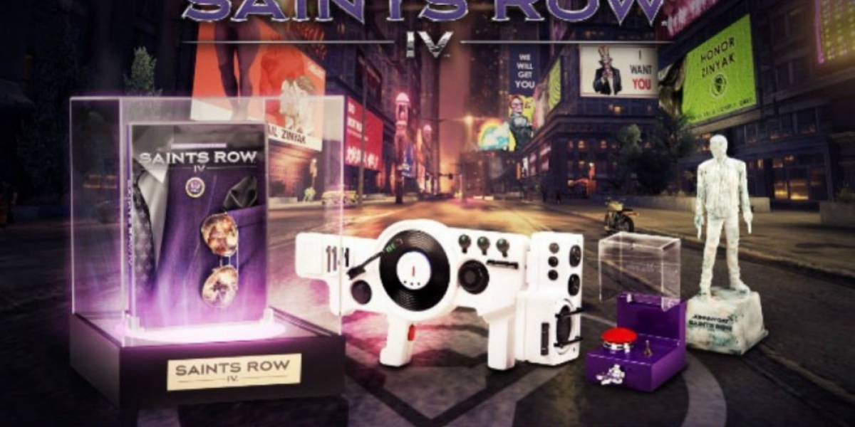 Deep Silver revela una nueva edición de colección de Saints Row IV