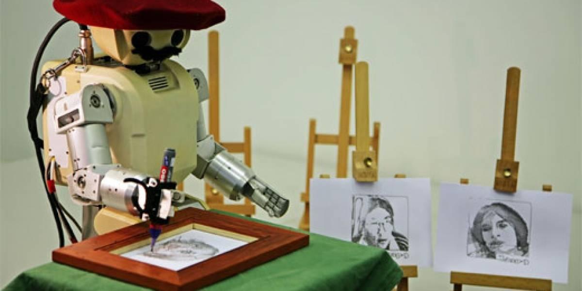 Salvador DaBot: Un robot que dibuja mejor que Leo Prieto