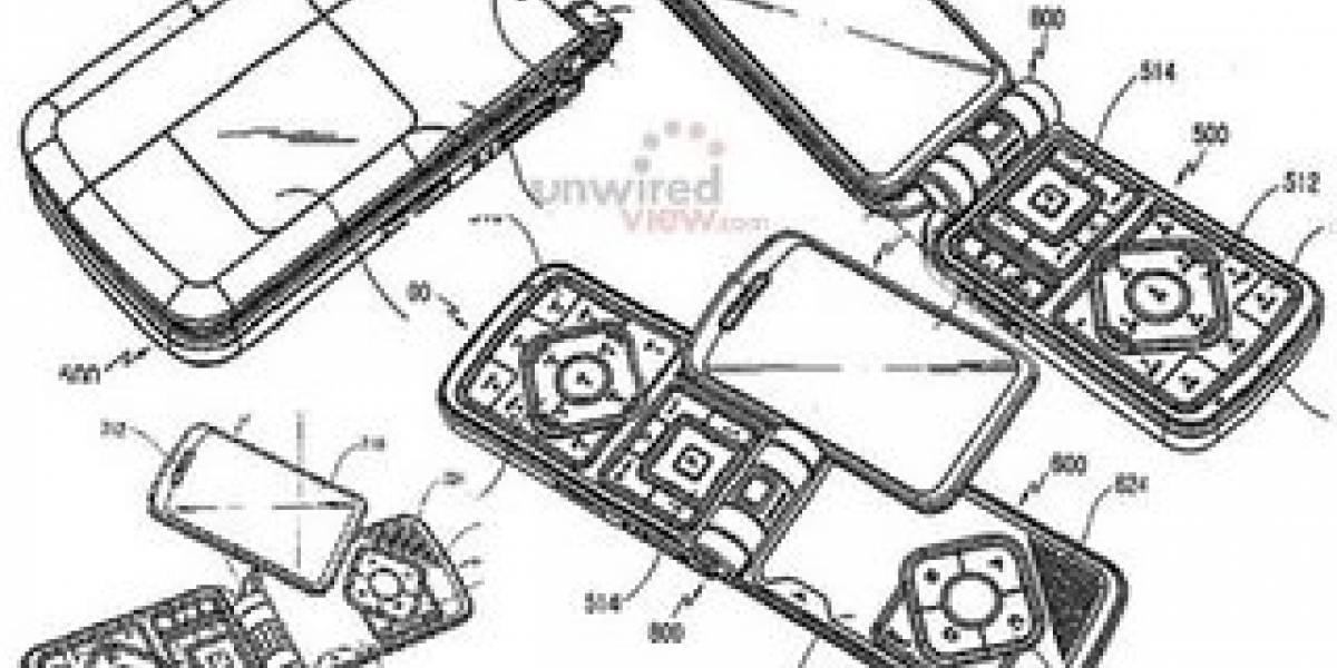 Samsung patenta teléfono de Transformer