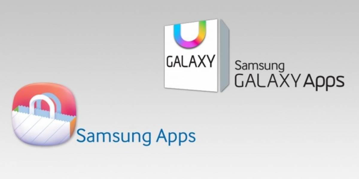 Samsung cambia nombre de su tienda de aplicaciones a Samsung Galaxy Apps