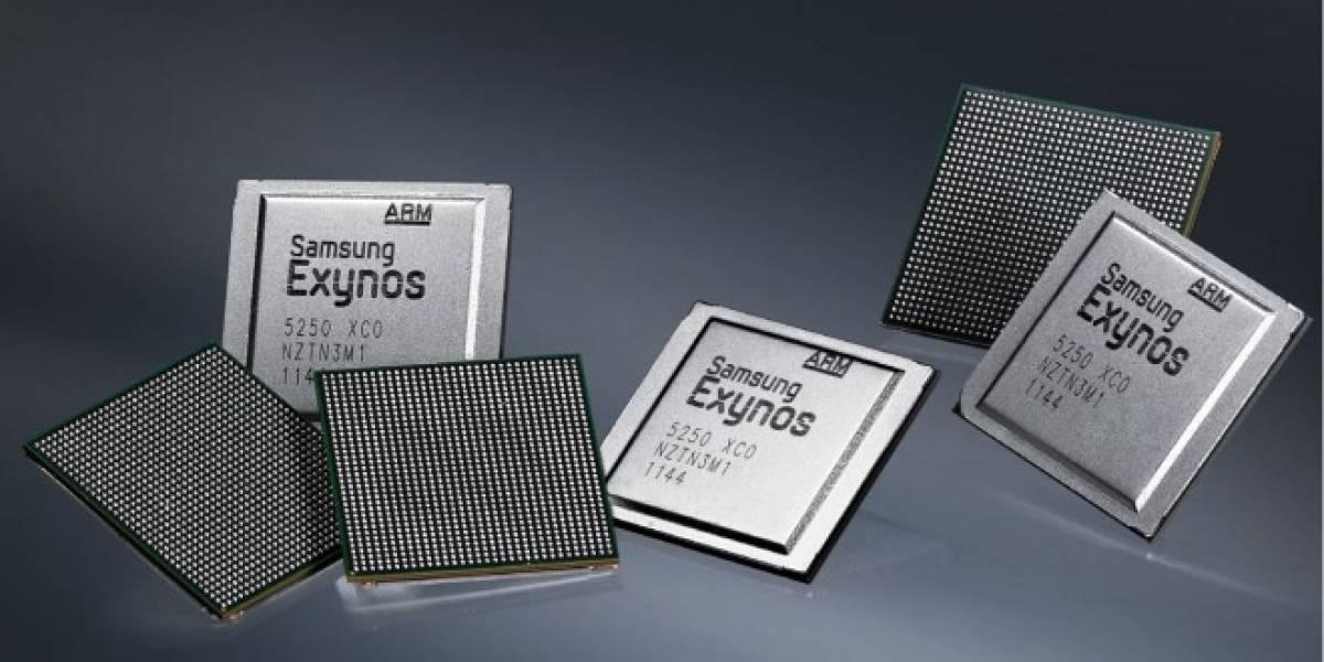 Samsung introduce un procesador Exynos con LTE integrado