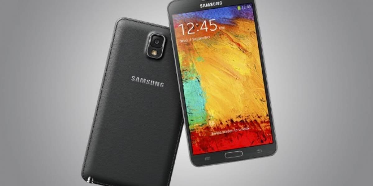 Samsung Galaxy Note 3 se actualiza y recibe funciones del Galaxy S5