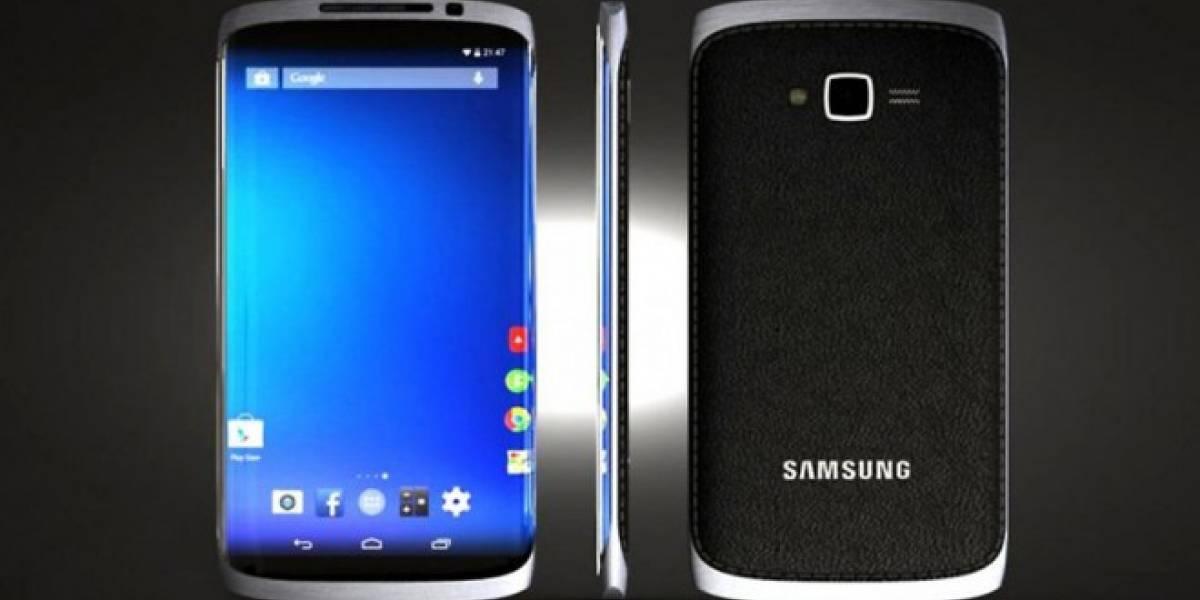 Imagen conceptual muestra cómo podría ser el Galaxy S5