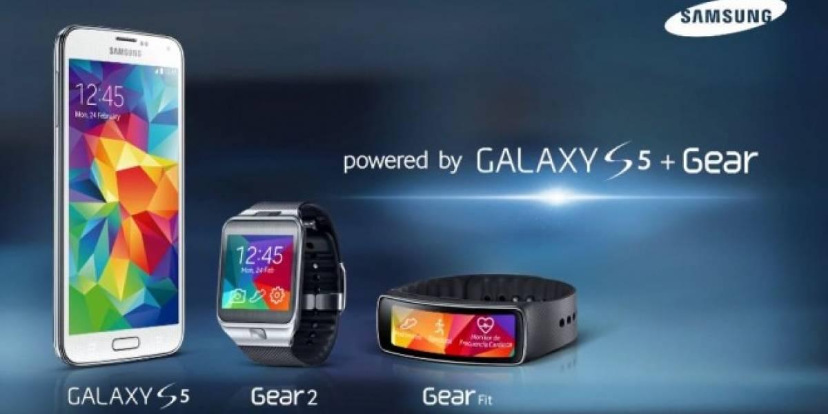 Samsung presentó en Chile su smartphone Galaxy S5