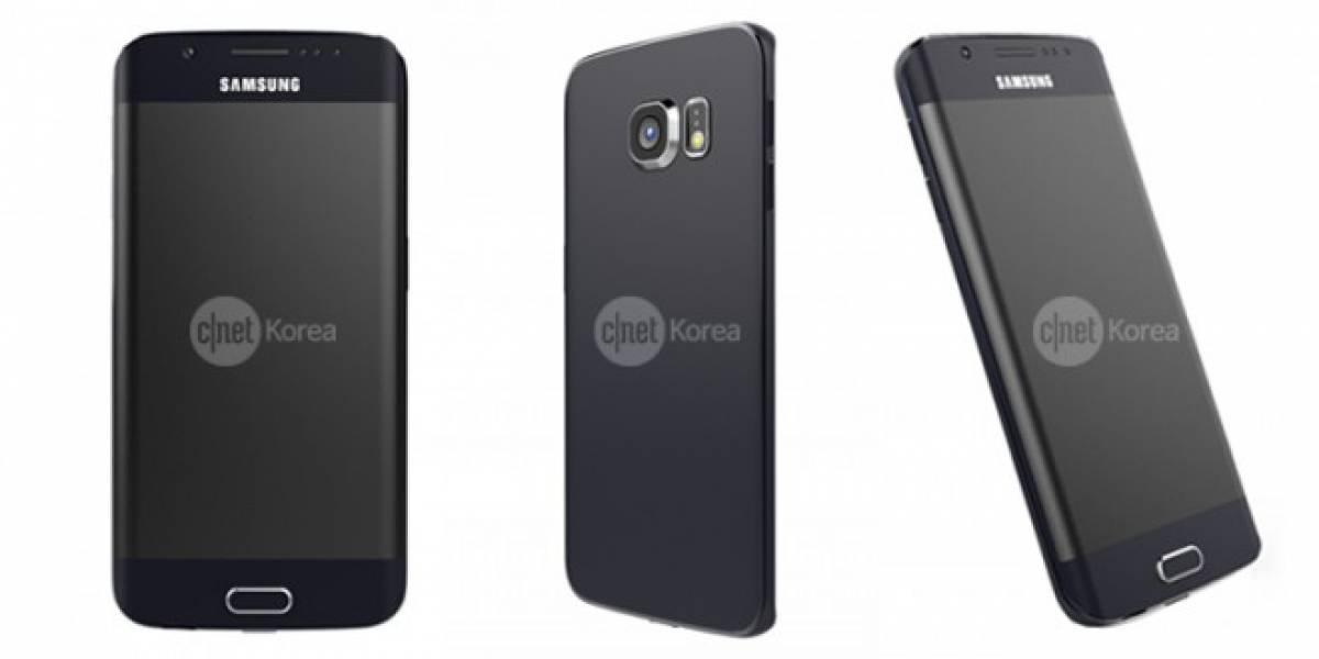 Aparecen imágenes de prensa del Samsung Galaxy S6 Edge