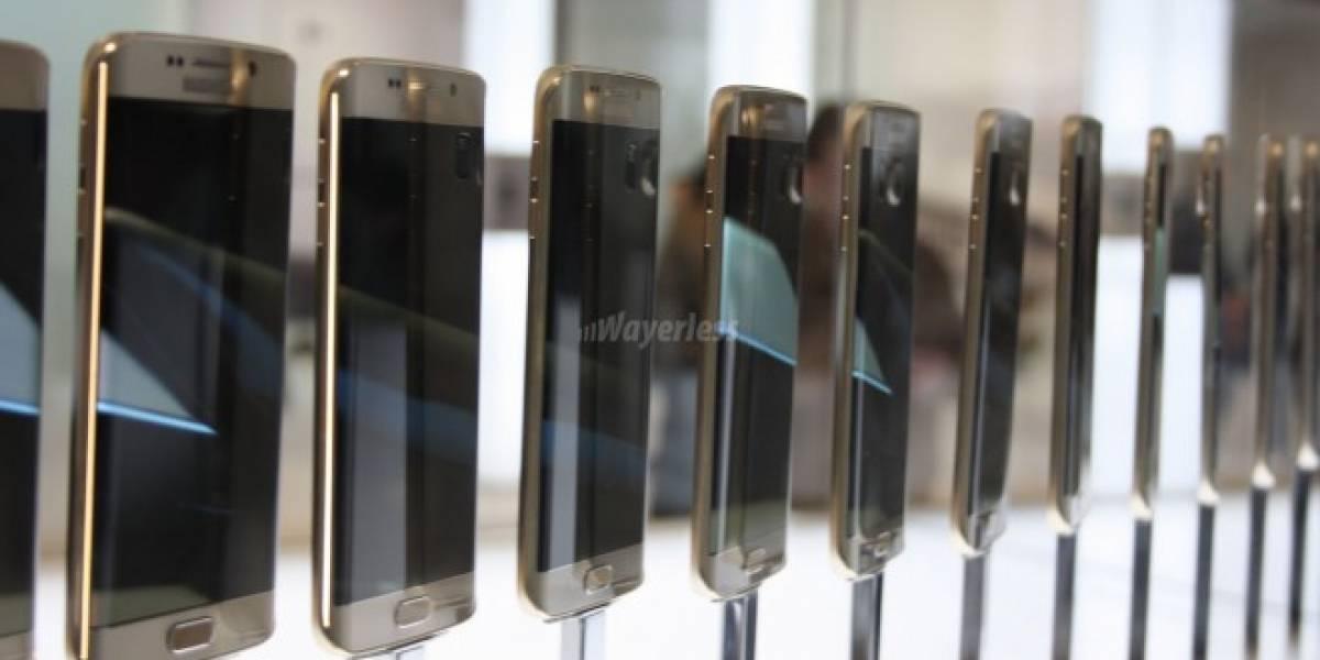 El próximo Galaxy Note tendría pantalla con ambos bordes curvos