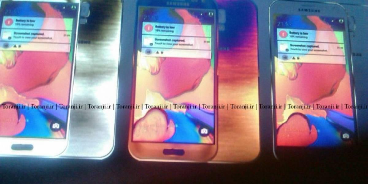 Aparecen imágenes pertenecientes al Samsung Galaxy S6