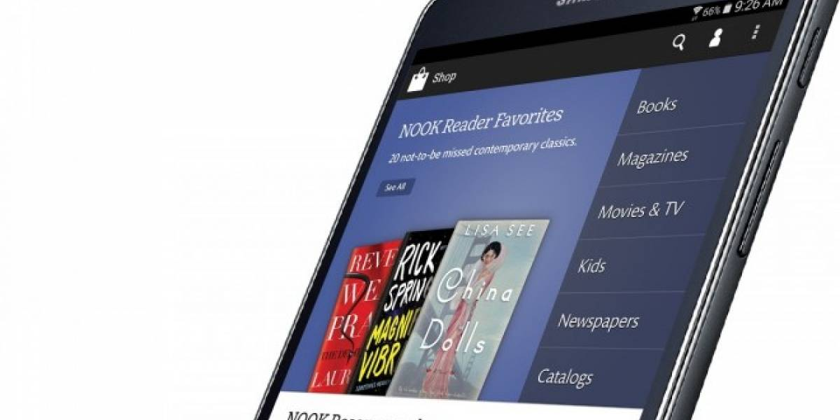 Samsung presenta su nueva Galaxy Tab 4 Nook