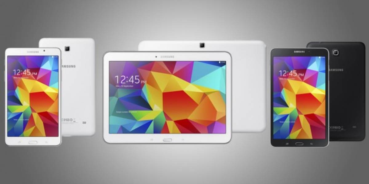 Samsung anuncia su nueva Galaxy Tab 4