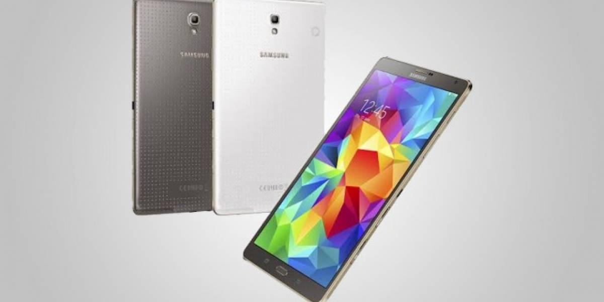 Llega a Chile la nueva Samsung Galaxy Tab S