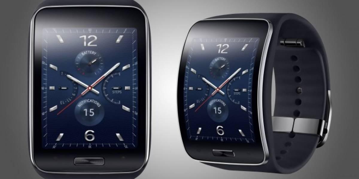 Samsung presenta al Gear S, su nuevo smartwatch
