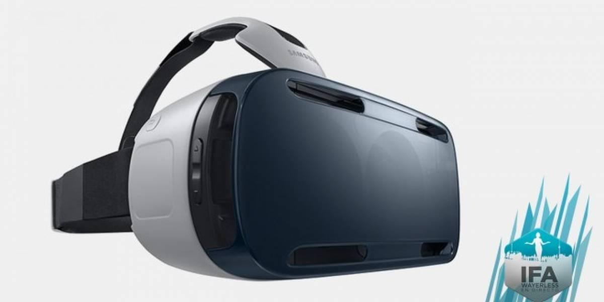 Samsung Gear VR ya es oficial #IFA2014