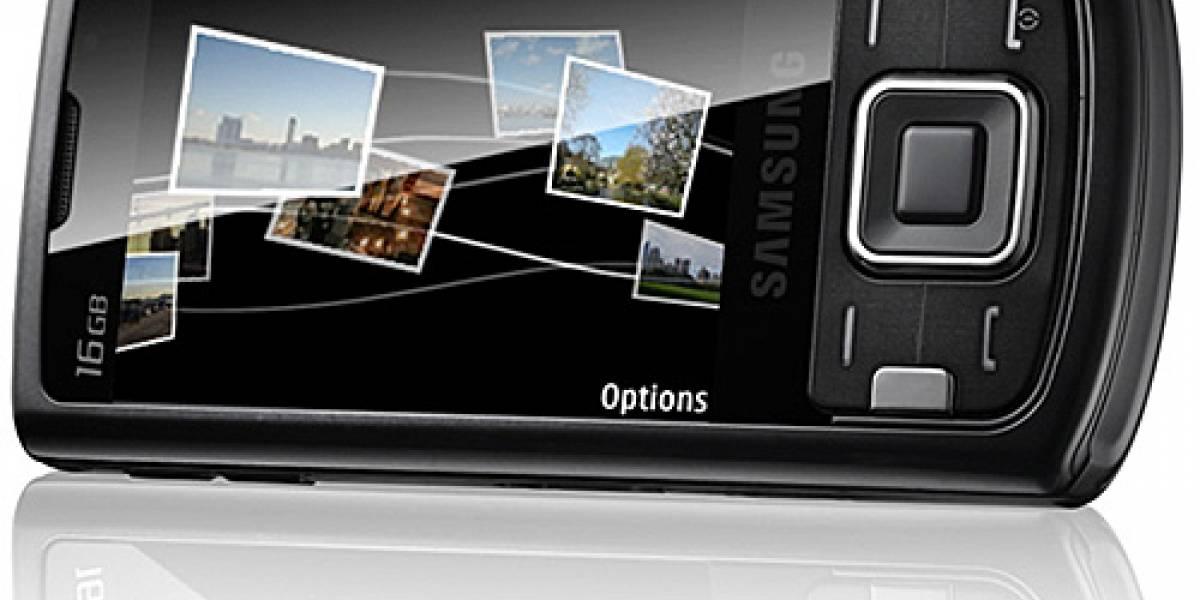 Samsung vendió 10 millones de celulares con pantalla táctil en 2008