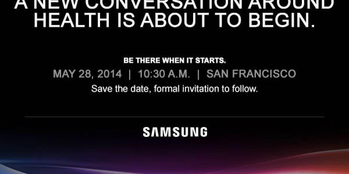 Samsung realizará evento el 28 de mayo sobre la salud