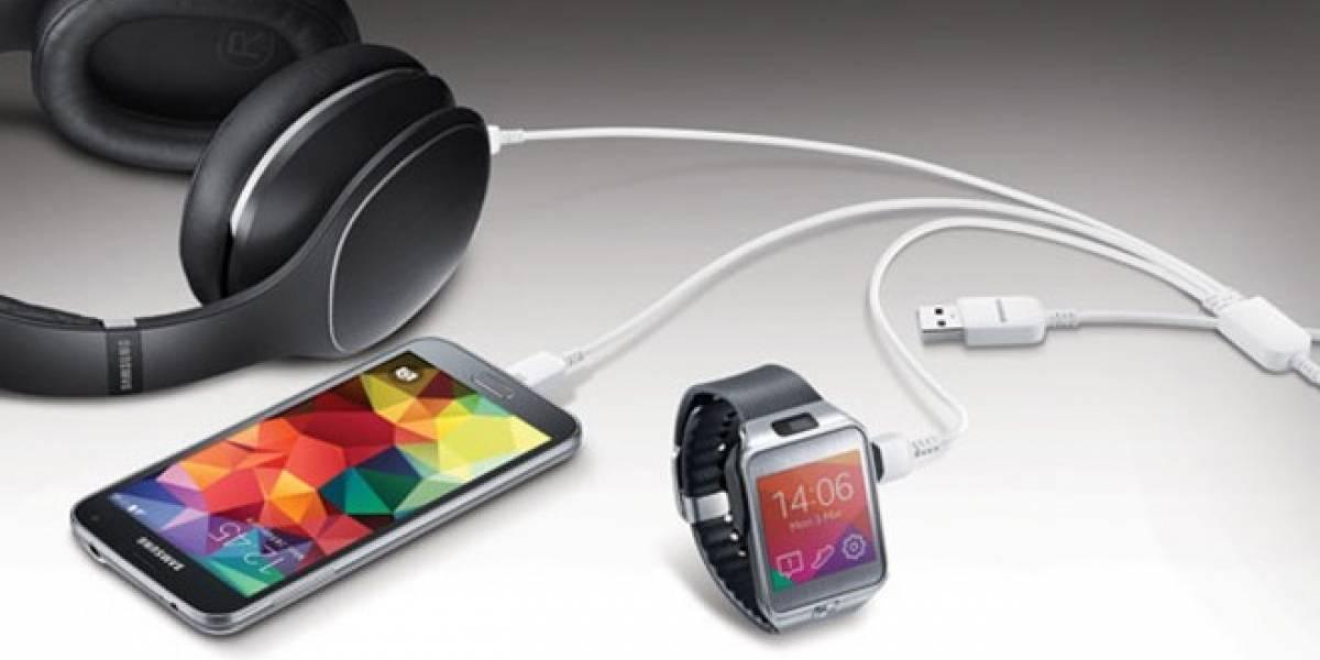 Samsung presenta un cable USB para cargar hasta 3 dispositivos a la vez