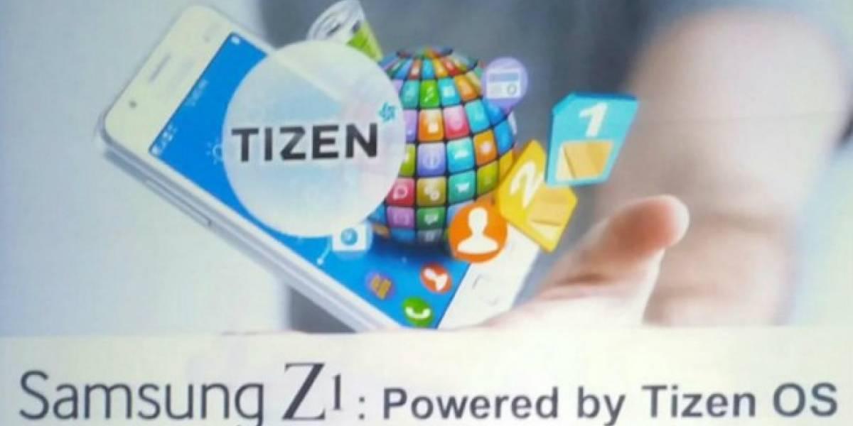 Conoce las especificaciones técnicas del Samsung Z1 con Tizen OS
