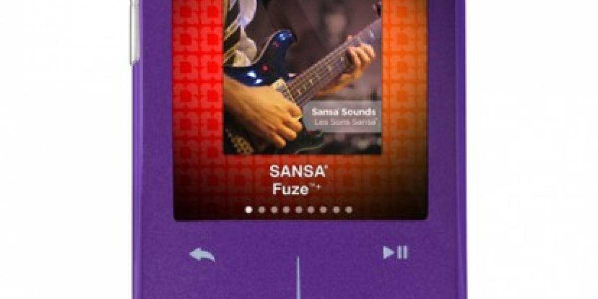Sandisk presenta Sansa Fuze+ y sigue luchando firme en el mercado MP3