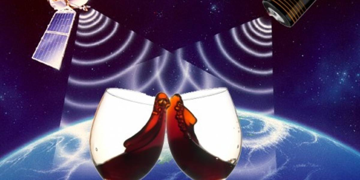 Satélites ayudan a vinicultores franceses