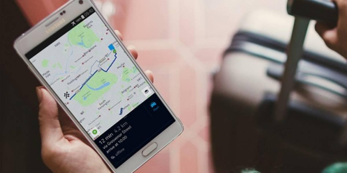 Aplicación de mapas de Nokia ya está en Google Play Store