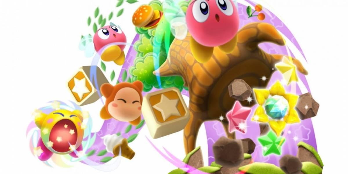 Este es el comercial para el lanzamiento de Kirby: Triple Deluxe