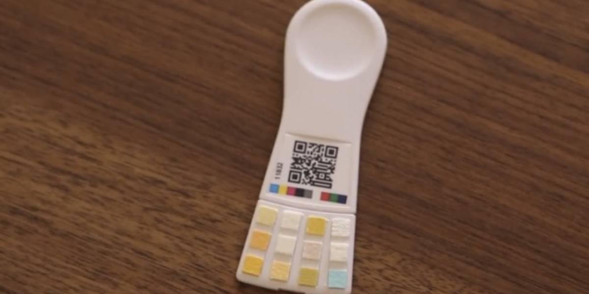 Ya está cerca un test de orina que se conecta al iPhone