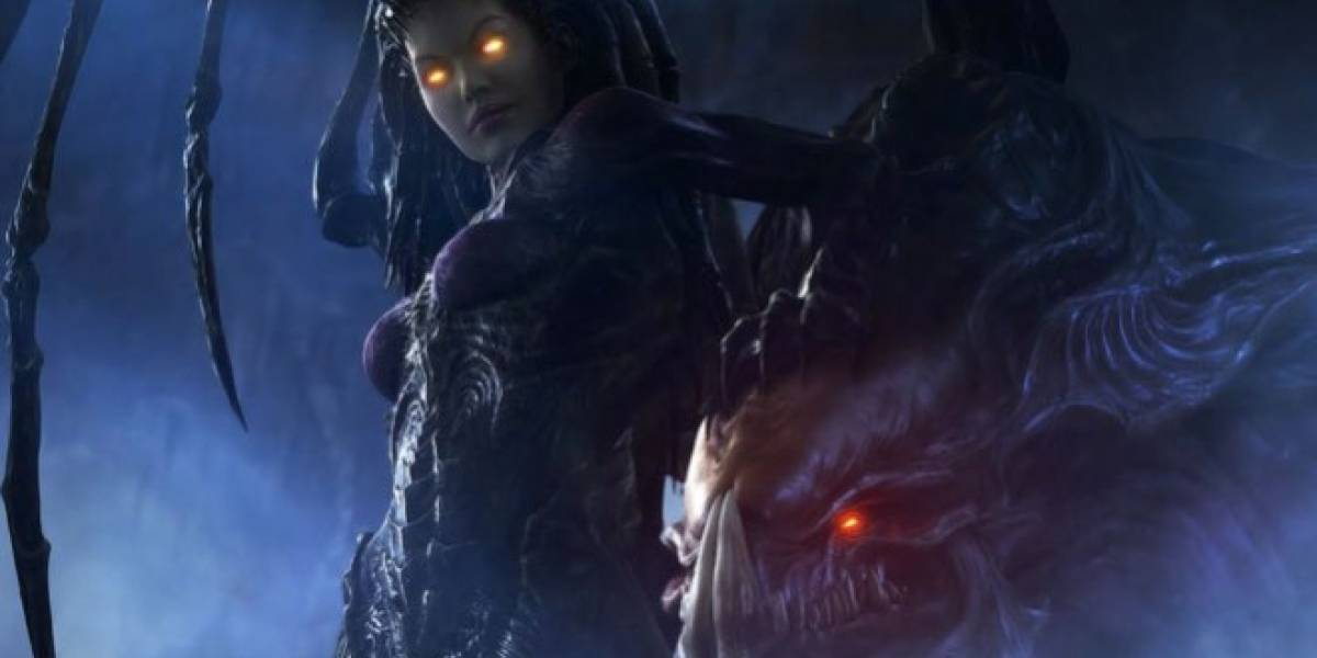 Este es el cinemático de inicio de StarCraft II: Heart of the Swarm