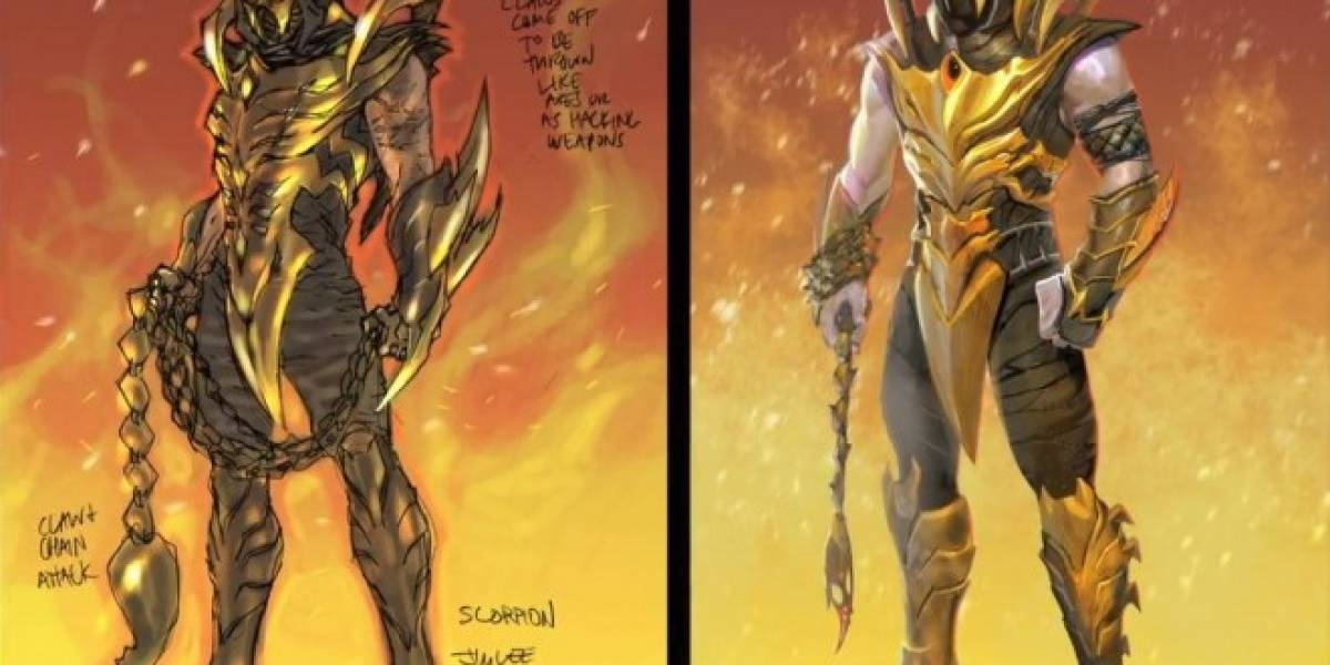 Scorpion estará presente en Injustice: Gods Among Us