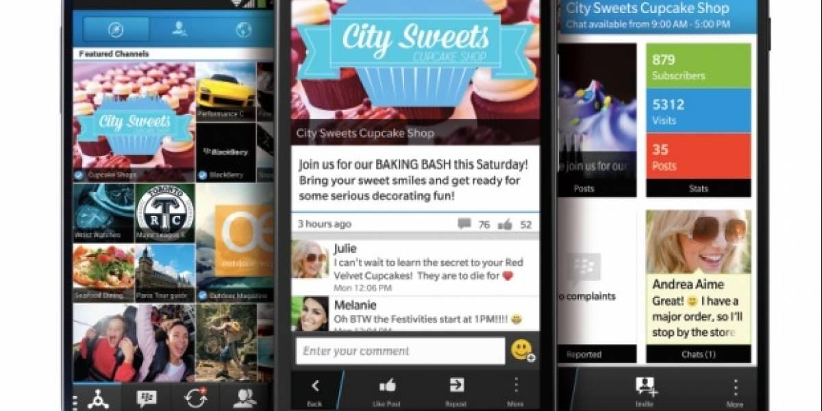 BlackBerry anuncia BBM 2.0 para iOS y Android