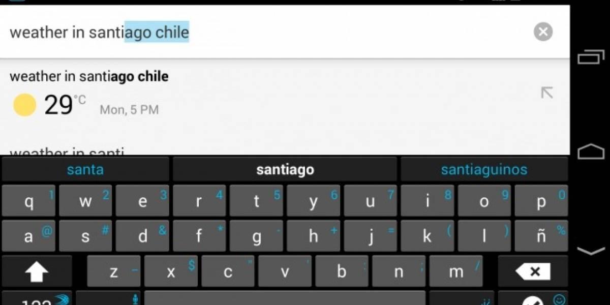Haz que Chrome para Android entregue respuestas en lista de sugerencias para autocompletar