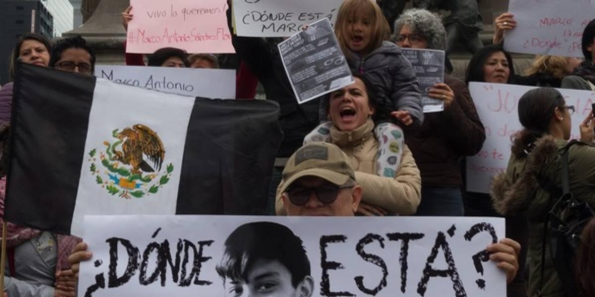Precandidatos condenan desaparición de Marco Antonio