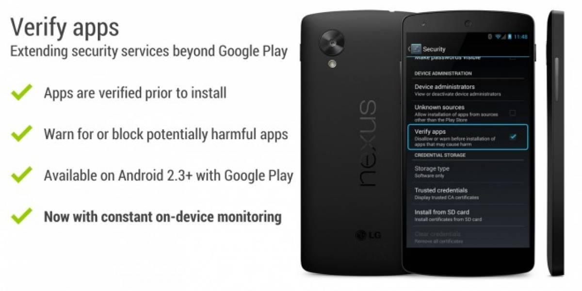 Google mejora la protección de Android con una constante verificación de apps