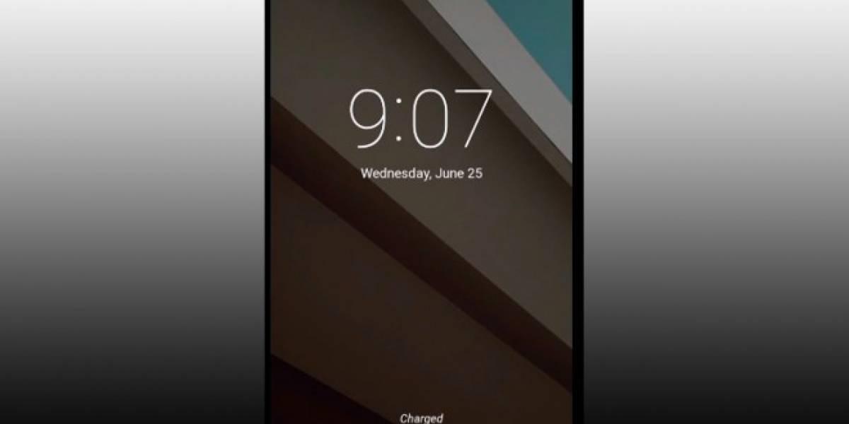Aparece la nueva interfaz de Android durante el streaming del Google I/O #IO14