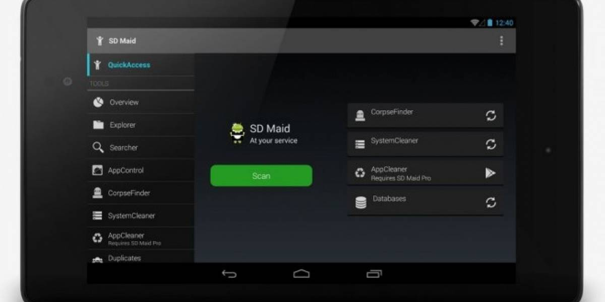 Elimina basura de Android y mejora su desempeño con SD Maid [App del día]