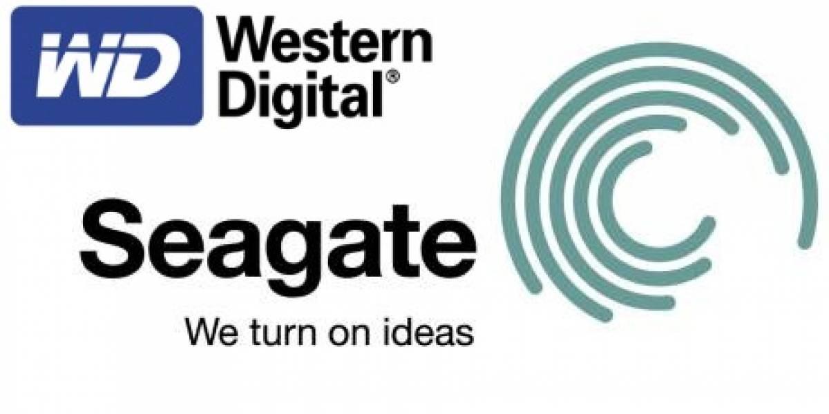 Discos duros internos de 3TB de Seagate y Western Digital avistados