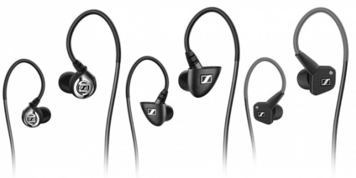 Senheisser IE: Audífonos in-ear tope de línea