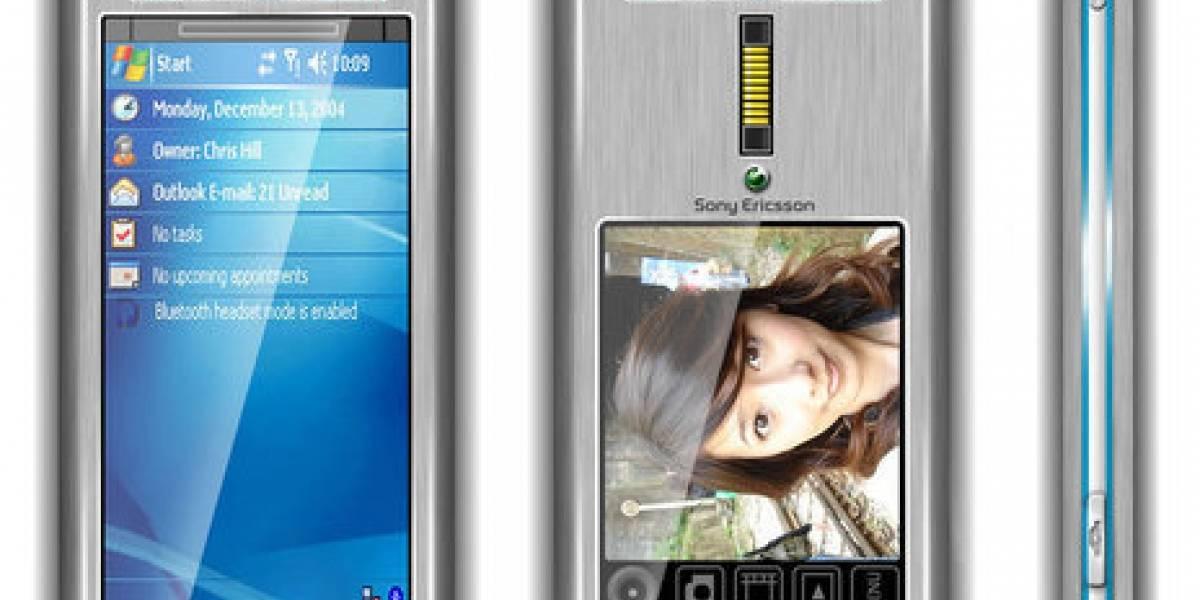 Concepto: Sony Ericsson con pantalla sin fin
