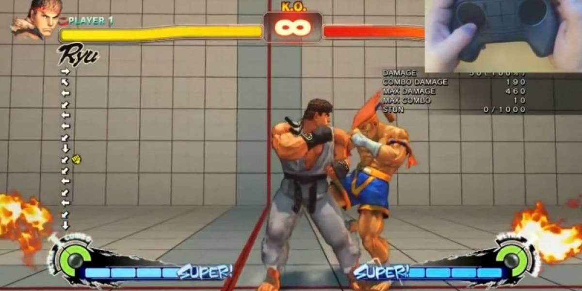 Así se juega Dota 2 y Street Fighter IV con el Steam Controller