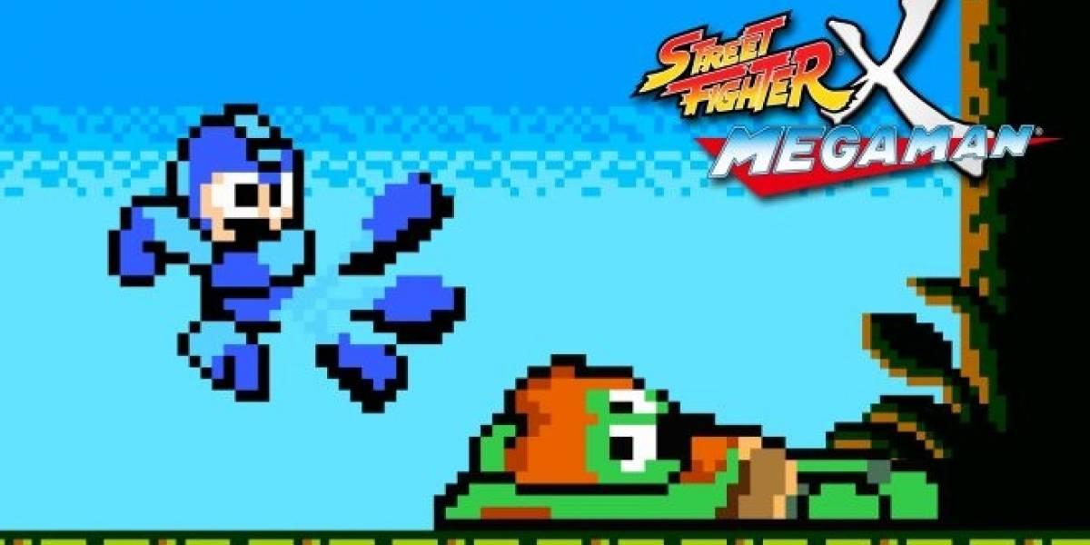 Actualización de Street Fighter X Mega Man llegará esta semana