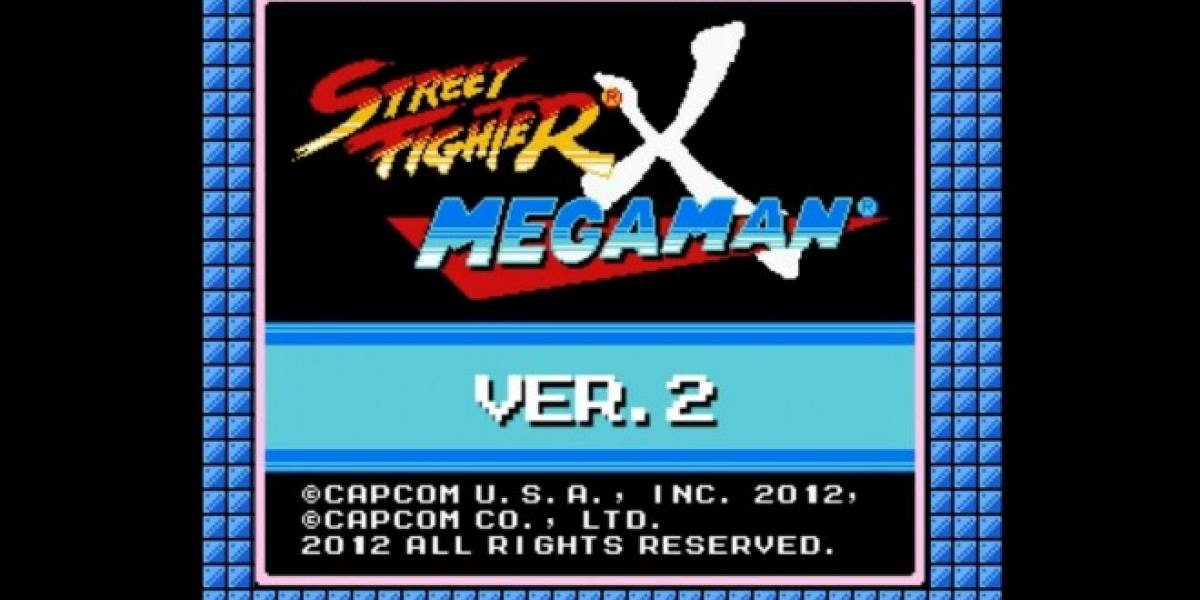 Ya está disponible Street Fighter X Mega Man V2
