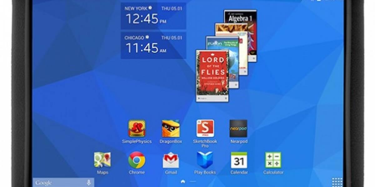 Samsung lanza nueva tableta ultra resistente para estudiantes