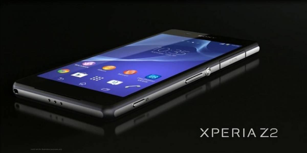 Ahora es turno del Sony Xperia Z2 para actualizarse a Android Lollipop