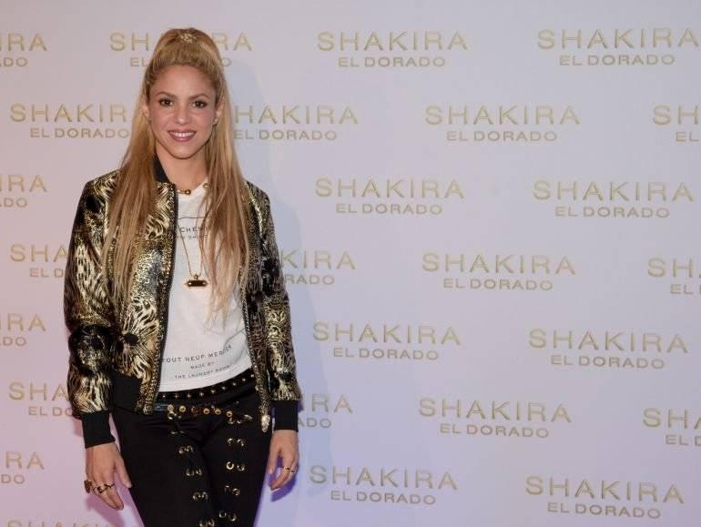"""Shakira, lanzamiento """"El Dorado"""""""